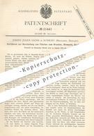 Original Patent - Joseph Julius Sachs , Sunbury , Middlesex , England , 1882 , Fläche Für Druck , Stempel   Walzen !! - Documents Historiques