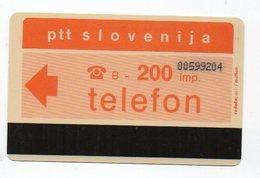 Ptt Slovenija - Telefon -  200 Imp. - Slovenië