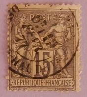 FRANCE TYPE SAGE YT 77 CAD 18/2/1877 - 1876-1898 Sage (Type II)