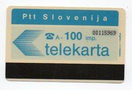 Ptt Slovenija - Telekarta -  100 Imp. - Slovenië