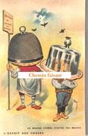 Top Chromo !!! Chocolat De L'UNION - Esprit Des Choses : En Bouche Fermée, N'entre Pas Mouche - Scans Recto Verso - Autres