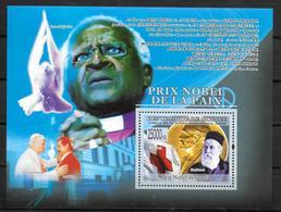 GUINEE BF 934   * *  ( Cote 13e ) Prix Nobel Paix Colombe Tutu  Dunant Croix Rouge - Henry Dunant