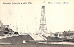 Liège Expo 1905 - L'Entrée De Fragnée - L'Escalier - Liege