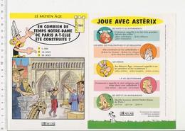 Construction De La Cathédrale Notre-Dame De Paris Tailleur De Pierre Histoire De France VP 01-FICH - Vieux Papiers