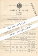 Original Patent - Heinrich Löster , Wien , Österreich , 1902 , Herstellung Von Schwefelfarbstoff   Schwefel - Farbstoff - Documents Historiques