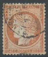 Lot N°47020  N°38, Oblit Cachet à Date De PARIS (R. Serpente) - 1870 Siege Of Paris