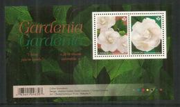 Le Gardenia Au Canada. Bloc-feuillet Neuf ** Canada - Végétaux