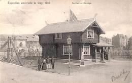 Liège Expo 1905 - Pavillon De Norvège (animée) - Liege