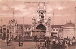 Liège Expo 1905 - Entrée Des Halls (animée) - Liege
