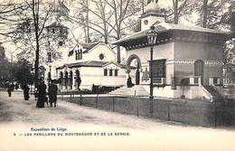 Liège Expo 1905 - Les Pavillons De Montenegro Et De La Serbie (animée, Bertels) - Liege