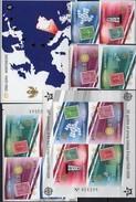 CEPT 2006 CRNA GORA 108/1B,VB,Blocks 2 B+3 Imperf.** 264€ Hojita Ss Blocs Stamps On Stamp Sheets Bf 50 Years EUROPE - Europa-CEPT