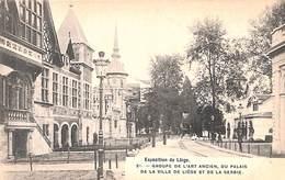 Liège Expo 1905 - Groupe De L'Art Ancien, Du Palais De La Ville De Liège Et De La Serbie (Bertels) - Liege