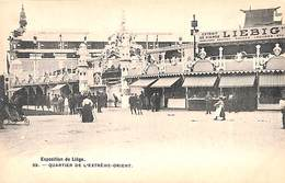Liège Expo 1905 - Quartier De L'Extrême-Orient (Bertels, Animée) - Liege