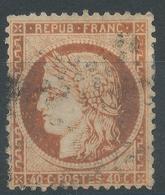 Lot N°47025  Variété/n°38, Oblit, Couleur OCRE - 1870 Siege Of Paris