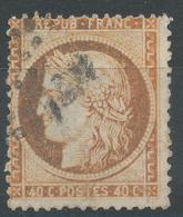 Lot N°47026  Variété/n°38, Oblit, Couleur OCRE - 1870 Siege Of Paris