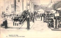 Liège Expo 1905 - Section De L'Art Militaire (Bertels) - Liege