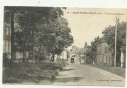 Belle Carte Sépia  16.  SAINT.PORCHAIRE  (Ch.Inf.) .L'Entrée Du Bourg - Sonstige Gemeinden