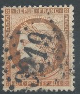 Lot N°47027  Variété/n°38, Oblit GC 3219 Rouen, Seine-Inférieure (74), Couleur OCRE - 1870 Siege Of Paris