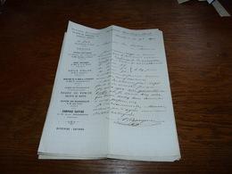 Document Commercial Facture Alfred Bourgois Quartier Léopold Bruxelles 1901 - Belgique