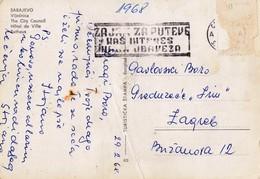Bosnia And Herzegovina Sarajevo 1968 / Zajam Za Puteve - Nas Interes, Nasa Obaveza / Machine Stamp, Flam - Bosnie-Herzegovine