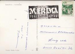 Bosnia And Herzegovina Sarajevo 1966 / MERIMA Toaletni Sapuni / Machine Stamp, Flam - Bosnie-Herzegovine