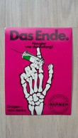 Anti-Drogen-Aufkleber Einer Krankenkasse (Barmer) Aus Deutschland - Stickers