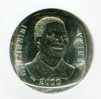 South Africa Year 2000 5R Nelson Mandela R5 Smiley Madiba Coin NGC MS 63 - Afrique Du Sud