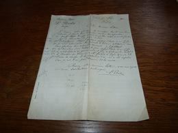 Document Commercial Facture Pharmacie Bofsut Succ. L Breda Tournai 1900 - Belgique