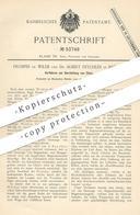 Original Patent - Prosper De Wilde , Dr. Albert Reychler , Brüssel , 1889 , Darstellung Von Chlor   Chemie   Weldon !!! - Documents Historiques