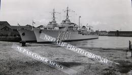 NEGATIF PHOTO Marine Nationale Navire De Guerre Classe Le Fantasque Le Terrible X101 X103 Bateau Torpilleur - Boats