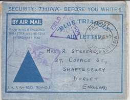 Field Post Cover      (Red-4000-special-1) - Malaysia (1964-...)