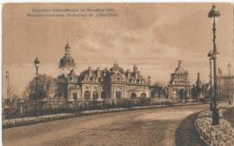 """Brussel - Bruxelles - Exposition Internationale De Bruxelles 1910 - Restaurant Du """"Chien-Vert"""" - L.R.àB - 1910 - Expositions Universelles"""