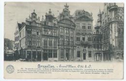 Brussel - Bruxelles - Grand'Place Côté S. O. - 1920 - Places, Squares