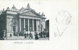Brussel - Bruxelles - La Bourse - 1906 - Monuments, édifices