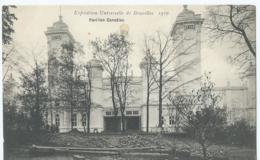 Brussel - Bruxelles - Exposition Universelle De Bruxelles 1910 - Pavillon Canadien - Expositions Universelles