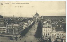 Antwerpen - Anvers - Avenue De Keyser Et Gare Centrale - Ern. Thill Série 25 No 42 - 1920 - Antwerpen