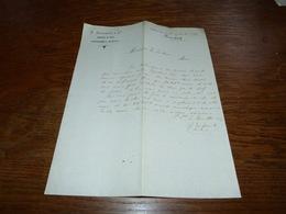 Document Commercial Facture Fabricant De Sucre E Brouette & Cie Pommeroeul 1899 - Belgique
