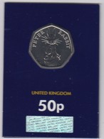 Great Britain UK 50p Coin 2019 Peter Rabbit - Brilliant Uncirculated BU - 1971-… : Monnaies Décimales