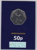 Great Britain UK 50p Coin 2019 Peter Rabbit - Brilliant Uncirculated BU - 1971-… : Decimal Coins
