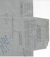"""Télégramme Par VOIE TSF De MEXICO à PARIS Pour Dépôt Officiel De La Marque """"MAGIE"""" De LANCOME Au Mexique. - Vieux Papiers"""
