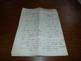 Document Commercial Facture Richard Brückner Hamburg 1899 - Belgique