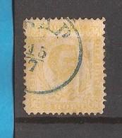 1898  1  II   PERF--  12 1-2 - RRR  MONTENEGRO CRNA GORA  FUERST NIKOLA I  USED - Montenegro