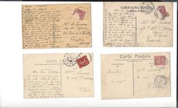 AUGUSTE LEROUX 1871 - 1954 , GEORGES LEROUX 1877 - 1957 Tous Deux Prix De Rome - Env. 230 Cartes Postales Reçues - Autographes