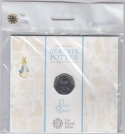 Great Britain UK 50p Coin 2019 Peter Rabbit - Presentation Folder - Brilliant Uncirculated BU - 1971-… : Decimal Coins