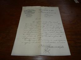 Document Commercial Facture Huileries à Vapeur XC Butterworth & Fils Spécialité Huiles De Graissage 1900 - Belgique
