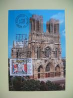Carte Maximum 1996 N° 3024  Cachet Reims Boulingrin  Marne - Cartes-Maximum
