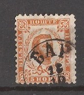 1898  36   PERF- 10 1-2 MONTENEGRO CRNA GORA  FUERST NIKOLA I    USED - Montenegro