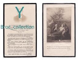 Halluin, Mémento D' Alfred Demeestère, 22/10/1912, 48 Ans, Souvenir Mortuaire Avec Photo - Images Religieuses
