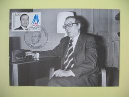 Carte Maximum 1998 N° 3129 - Michel Debré - Cachet Ambroise - Cartes-Maximum