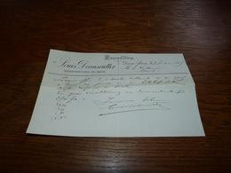 Document Commercial Facture Louis Deanscutter Deux-Acren 1903 - Belgique